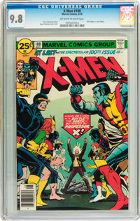 X-Men #100 (Marvel, 1976) CGC NM/MT 9.8 Off-white to white pages