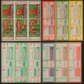 "Baseball Collectibles:Tickets, 1932-45 Chicago Cubs World Series Proof Full Tickets Lot of 12 -Including Babe Ruth ""Called Shot"" Ticket...."