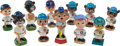 Baseball Collectibles:Others, 1960-1990's Chicago Cubs Nodders Lot of 11....