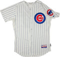 Baseball Collectibles:Uniforms, 2006 Ryne Sandberg Spring Training Game Worn Chicago Cubs Instructor's Jersey....