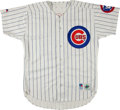 Baseball Collectibles:Uniforms, 1995 Tony Muser Game Worn Chicago Cubs Uniform....