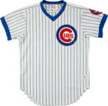 Baseball Collectibles:Uniforms, 1984 Chicago Cubs Game Worn Jersey....
