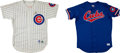 Baseball Collectibles:Uniforms, 1994 Frank Castillo Game Worn Chicago Cubs Jersey and No. 54Batting Practice Jersey....
