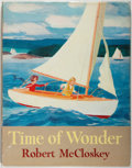 Books:Children's Books, Robert McCloskey. Time of Wonder. New York: The VikingPress, 1957. First edition. Folio. 63 pages. Illustrated ...