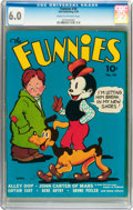 Golden Age (1938-1955):Miscellaneous, The Funnies #30 (Dell, 1939) CGC FN 6.0 Cream to off-white pages....