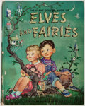 Books:Children's Books, Garth Williams, illustrator. The Giant Golden Book of Elves andFairies. New York: Simon and Schuster, 1951. Fol...