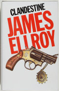 Books:Mystery & Detective Fiction, James Ellroy. SIGNED. Clandestine. London and New York:Allison & Busby, 1984. First English edition. Signed b...