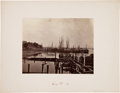 Photography, A Fine Civil War Era Photo of the Docks at City Point, Virginia....