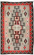 American Indian Art:Weavings, A NAVAJO REGIONAL RUG. Ganado. c. 1955...