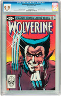 Modern Age (1980-Present):Superhero, Wolverine (Limited Series) #1 (Marvel, 1982) CGC MT 9.9 Off-whitepages....