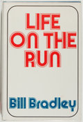 Books:Biography & Memoir, Bill Bradley. SIGNED. Life on the Run. New York:Quadrangle/The New York Times Book Co., 1976. First edition. ...