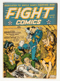 Golden Age (1938-1955):War, Fight Comics #20 (Fiction House, 1942) Condition: FN/VF....