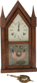 Political:3D & Other Display (pre-1896), Zachary Taylor: Steeple Mantel Clock....