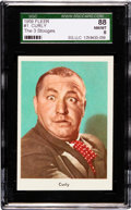 "Non-Sport Cards:Singles (Post-1950), 1959 Fleer ""Three Stooges"" Curly #1 SGC 88 NM/MT 8. ..."