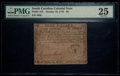 Colonial Notes:South Carolina, South Carolina October 19, 1776 $8 PMG Very Fine 25.. ...