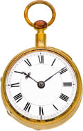 Timepieces:Pocket (pre 1900) , John Pepys London Late 17th Century Hour Repeating Clock Watch. ...