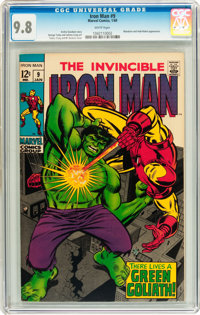 Iron Man #9 (Marvel, 1969) CGC NM/MT 9.8 White pages