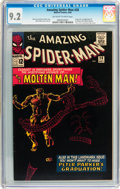 Silver Age (1956-1969):Superhero, The Amazing Spider-Man #28 (Marvel, 1965) CGC NM- 9.2 Off-white to white pages....