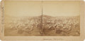 Western Expansion:Goldrush, [Nevada Mining]. Stereoscopic Photograph of Virginia City,Nevada....