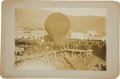 Western Expansion:Goldrush, [Klondike Gold Rush]. Photograph of a Balloon Launch in DawsonCity, Yukon Territory....
