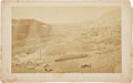 Western Expansion:Goldrush, [Nevada Mining]. Photograph of Virginia City, Nevada....