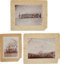 Western Expansion:Goldrush, Lot of 3 Photographs of Gibsonville, California.... (Total: 3Items)