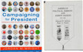 Books:Reference & Bibliography, Political Campaign Item Reference Books....