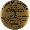 Political:Pinback Buttons (1896-present), Barry Goldwater: Democratic Lyndon Tree Button....