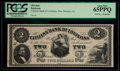 Obsoletes By State:Louisiana, New Orleans, LA- Citizens' Bank of Louisiana $2. ...