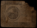 Colonial Notes:Continental Congress Issues, Continental Currency April 11, 1778 $6 Fine.. ...