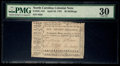 Colonial Notes:North Carolina, North Carolina April 23, 1761 20s PMG Very Fine 30.. ...