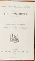 Books:Literature Pre-1900, Robert Louis Stevenson and Fanny Van de Grift Stevenson. TheDynamiter [Bound With:] Robert Louis Stevenson. ...