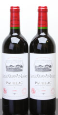 Red Bordeaux, Chateau Grand Puy Lacoste 1996 . Pauillac. Bottle (2). ...(Total: 2 Btls. )