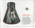 Transportation:Space Exploration, Mercury-Redstone 4 (Liberty Bell 7) Flown Component from theRecovered Spacecraft in Lucite....