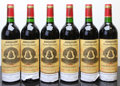 Red Bordeaux, Chateau l'Angelus 1994 . St. Emilion. Bottle (6). ... (Total: 6 Btls. )