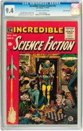 Golden Age (1938-1955):Science Fiction, Incredible Science Fiction #32 Gaines File Copy 3/12 (EC, 1955) CGCNM 9.4 Off-white to white pages....