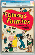 Platinum Age (1897-1937):Miscellaneous, Famous Funnies: A Carnival of Comics #nn (Eastern Color, 1933) CGCFN/VF 7.0 Off-white pages....