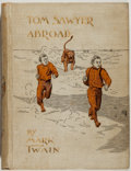 Books:Literature Pre-1900, Mark Twain. Tom Sawyer Abroad by Huck Finn. New York:Charles Webster & Company, 1894. First edition. Octavo. 21...