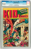 "Golden Age (1938-1955):Superhero, Kid Komics #8 Davis Crippen (""D"" Copy) pedigree (Timely, 1945) CGCNM- 9.2 Off-white to white pages...."