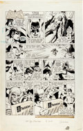"Original Comic Art:Complete Story, Dick Giordano First Hostess Twinkie Ad/Story ""Batman and theMummy"" Original Art (ITT Continental Baking Company..."