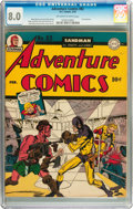 Golden Age (1938-1955):Superhero, Adventure Comics #83 (DC, 1943) CGC VF 8.0 Off-white to white pages....