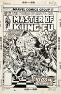 Original Comic Art:Covers, Ernie Chan Master of Kung Fu #60 Cover Original Art (Marvel,1978)....