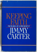 Books:Biography & Memoir, Jimmy Carter. INSCRIBED BY CARTER AND SIGNED BY ROSALYNN AND HERMOTHER ALLIE SMITH. Keeping Faith. Memoirs of a Preside...