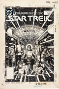 Original Comic Art:Covers, George Perez Star Trek #1 Cover Original Art (DC, 1984)....