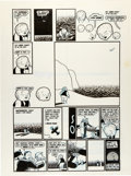 Original Comic Art:Panel Pages, Chris Ware Acme Novelty Library #10 Jimmy Corrigan, the SmartestKid on Earth Page Original Art (Fantagraphics, 19...