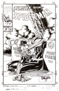 Original Comic Art:Covers, Tom Lyle Spider-Man #45 Cover Original Art (Marvel, 1994)....