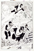 Original Comic Art:Splash Pages, John Byrne X-Factor Annual #3 Original X-Men Splash Page 46Original Art (Marvel, 1988)....