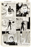 Original Comic Art:Panel Pages, Ron Frenz and Brett Breeding The Amazing Spider-Man #252 Page 14 Original Art (Marvel, 1984)....