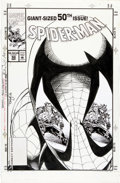 Original Comic Art:Covers, Tom Lyle Spider-Man #50 Cover Original Art (Marvel,1994)....