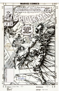 Original Comic Art:Panel Pages, Tom Lyle Spider-Man #36 Cover Original Art (Marvel,1993)....